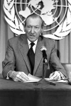 Kurt Waldheim  UN Secretary General 1972-81, and former Nazi.