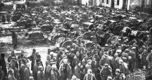 Russian Captives after the Battle of Tannenberg